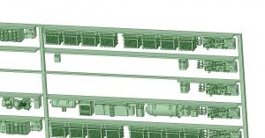 @阪急5146F 床下機器【武蔵模型工房 Nゲージ 鉄道模型】-1