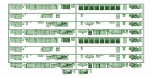 @能勢5100系 床下機器【武蔵模型工房 Nゲージ 鉄道模型】