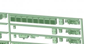 @能勢5100系 床下機器【武蔵模型工房 Nゲージ 鉄道模型】-2