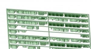 @阪急5100系90年代仕様 10連 床下機器【武蔵模型工房 Nゲージ 鉄道模型】-1