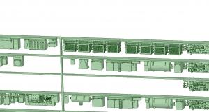 @阪急5100系90年代仕様 8連 床下機器【武蔵模型工房 Nゲージ 鉄道模型】-1