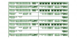 @阪急5100系90年代仕様 10連 床下機器【武蔵模型工房 Nゲージ 鉄道模型】