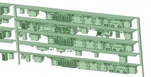 西武新2000 4連 HS20 MG【武蔵模型工房 Nゲージ 鉄道模型】-1
