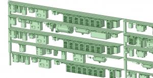 西武新2000 4連 HS20 MG【武蔵模型工房 Nゲージ 鉄道模型】-2
