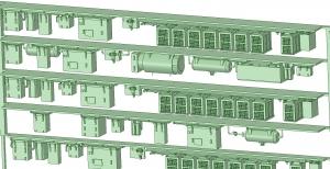 西武新2000 4連 RW20 MG【武蔵模型工房 Nゲージ 鉄道模型】-2