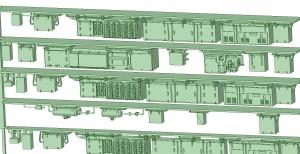 西武新2000 4連 RW20 SIV【武蔵模型工房 Nゲージ 鉄道模型】-1
