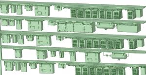 西武新2000 4連 RW20 SIV【武蔵模型工房 Nゲージ 鉄道模型】-2