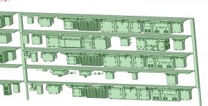 西武新2000 4連 MBU1600 SIV【武蔵模型工房 Nゲージ 鉄道模型】-1