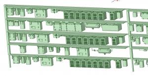 西武新2000 4連 MBU1600 SIV【武蔵模型工房 Nゲージ 鉄道模型】-2