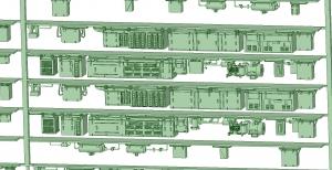 西武新2000 6連 HS20 MG【武蔵模型工房 Nゲージ 鉄道模型】-1