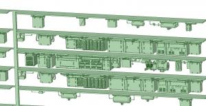西武新2000 8連 HS20直流 MG【武蔵模型工房 Nゲージ 鉄道模型】-1