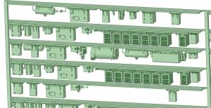 西武新2000 8連 HS20直流 MG【武蔵模型工房 Nゲージ 鉄道模型】-2