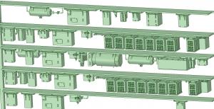 西武新2000 8連 HS20交流 MG【武蔵模型工房 Nゲージ 鉄道模型】-2