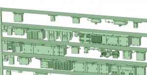 西武新2000 8連 2197F【武蔵模型工房 Nゲージ 鉄道模型】-1