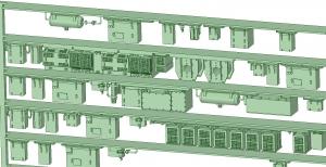 西武新2000 8連 2197F【武蔵模型工房 Nゲージ 鉄道模型】-2