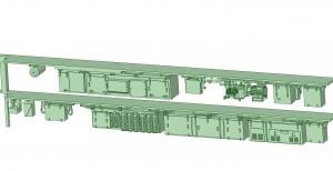 西武新2000 2連 HS20交流 SIV【武蔵模型工房 Nゲージ 鉄道模型】-1