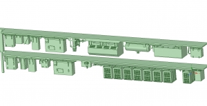 西武新2000 2連 HS20交流 SIV【武蔵模型工房 Nゲージ 鉄道模型】-2