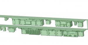 西武新2000 2連 MBU1600 SIV【武蔵模型工房 Nゲージ 鉄道模型】-1