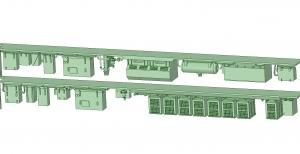 西武新2000 2連 MBU1600 SIV【武蔵模型工房 Nゲージ 鉄道模型】-2