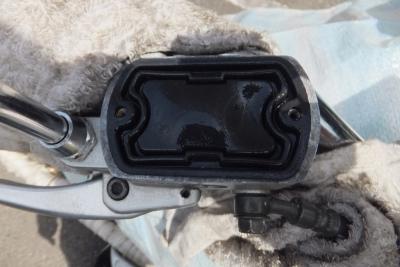 DS4 Fキャリパー掃除フルード交換 020