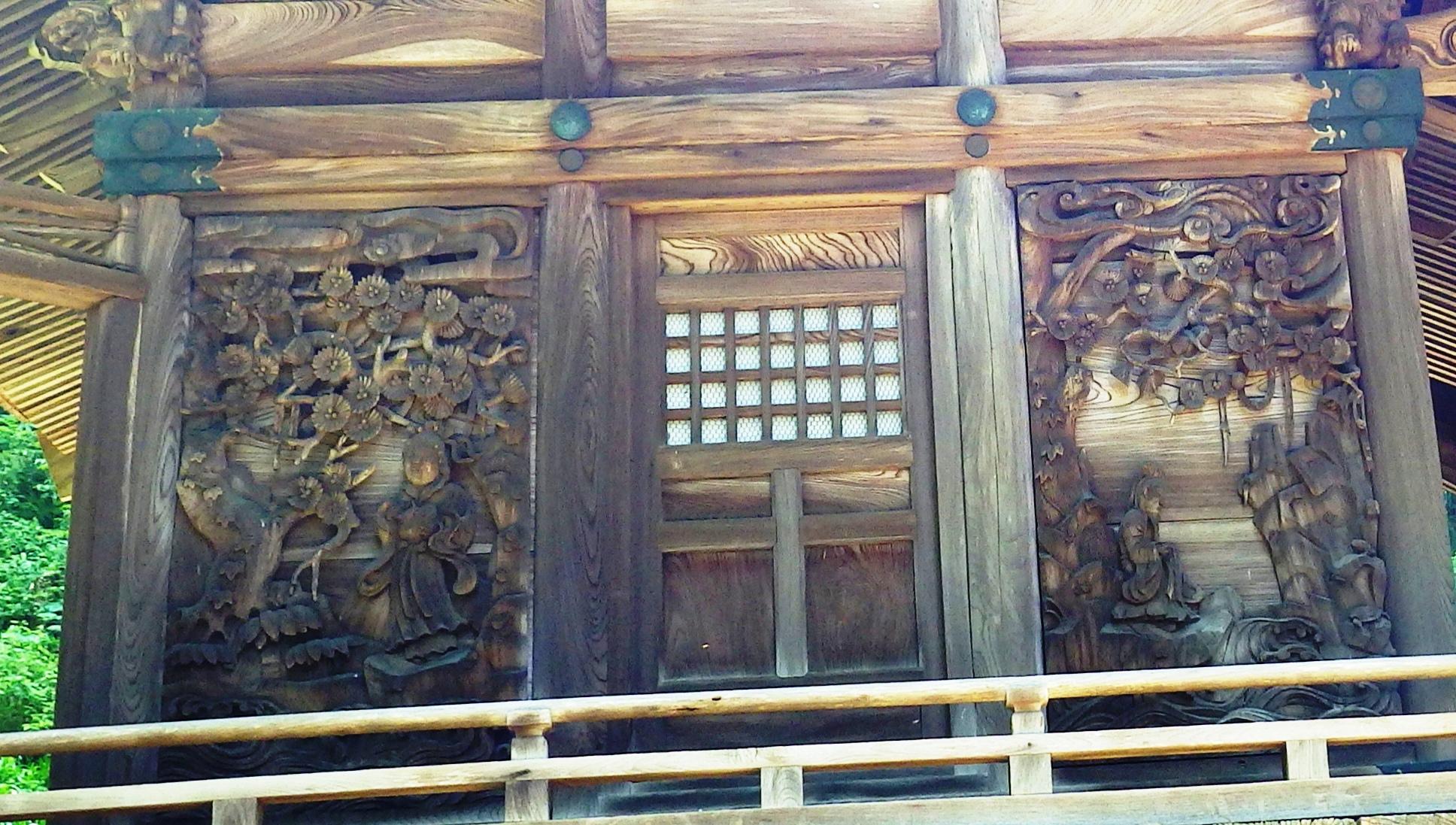 1128 左壁面彫刻