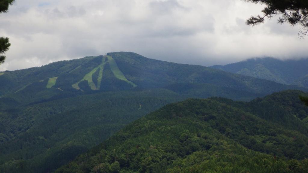 1309 報恩寺山経ヶ岳方面