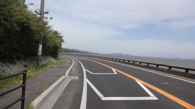 宍道湖沿い