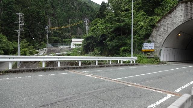 青崩峠への道