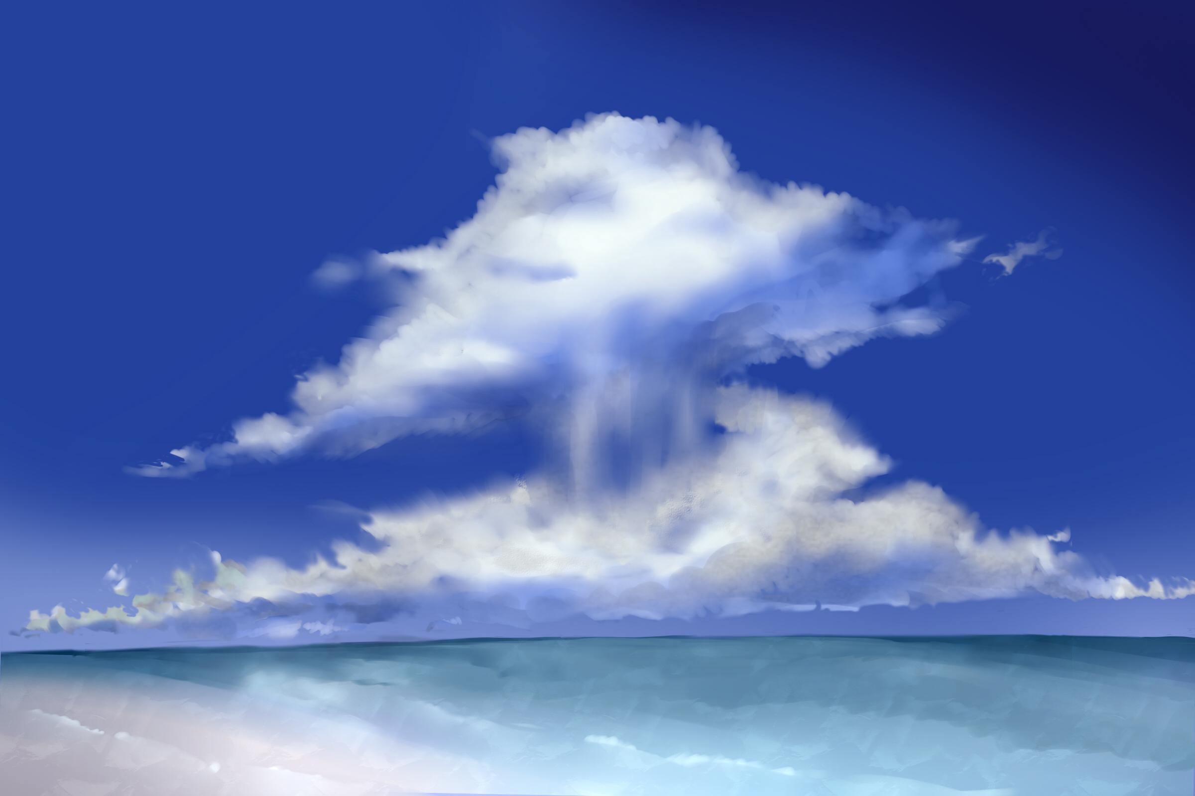 雲と海 20160624