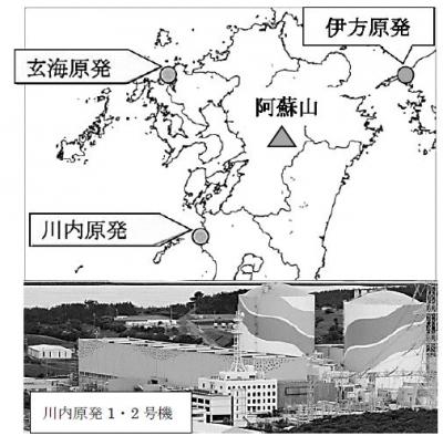 川内原発と熊本震災