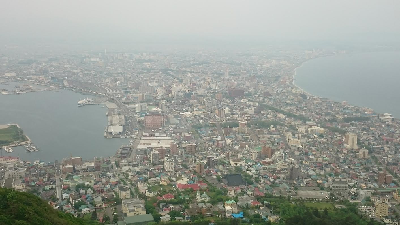 函館山昼間