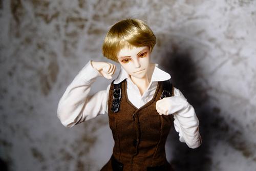 PARABOX、27cmスリム、弥勒ヘッド、メイクカスタム、京極夏彦の小説「百器徒然袋 風」での榎木津礼二郎の「にゃんこ!」