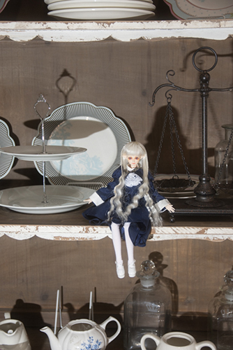 PARABOX、27cmノーマルボディ、フェアリーヘッド、メイクカスタム、エルフの女の子。CURAS川崎のピッコロドール撮影会に参加しました