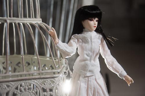 PARABOX、27cmS.Bボディ、弥勒ヘッド、メイクカスタム、自作のお洋服で、CURAS川崎のピッコロドール撮影会に参加しました