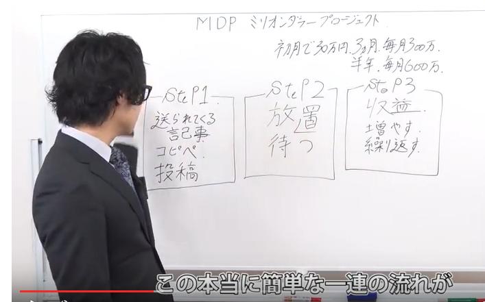 MDP ミリオンダラー プロジェクト動画②
