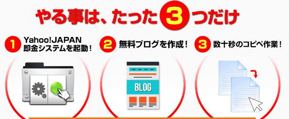 Yahoo!JAPAN即金フルオートシステム=シューマッハビジネス(青木純)②