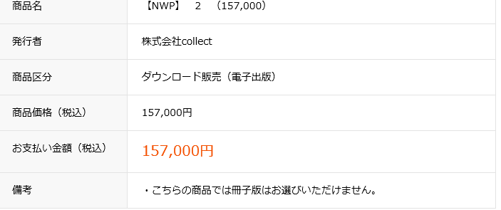 NWP値段