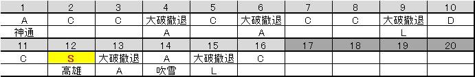 201605 E-7甲 ラスト突入前