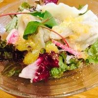 バジルと大葉のサラダ餃子