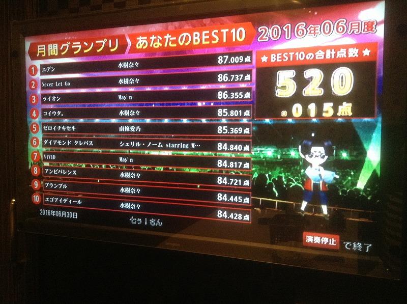 カラオケ2016630