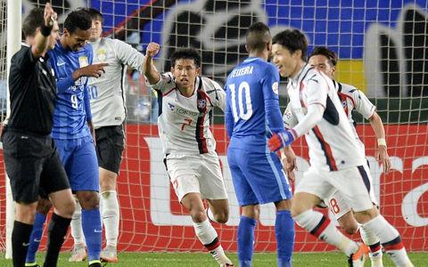 Jiangsu FC 1-2 FC Tokyo morishige goals