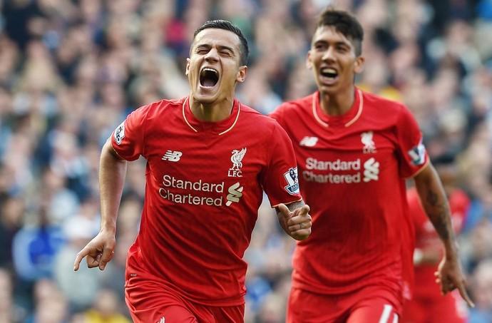 Fora da Seleção Coutinho faz dois Firmino um e Reds vencem jogo-treino