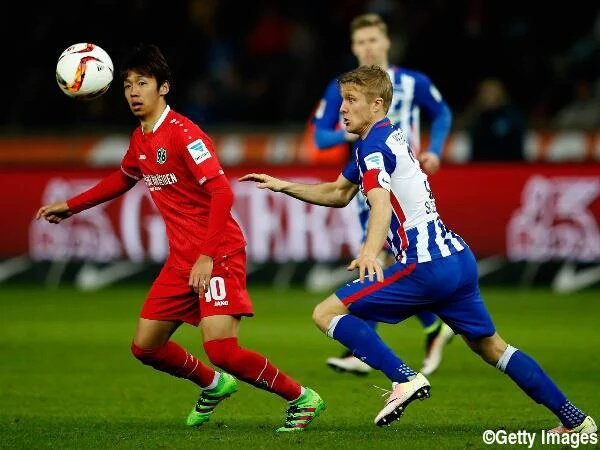 Kiyotake vs Hertha assist 2-2