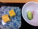 160408七福醸造 (試食・だし玉子と浅漬け)