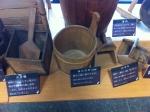 150422北の誉酒造酒泉館 (12)かき桶、汲杓など