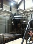 160708 京都町家麦酒醸造所 (2)麦汁ろ過槽
