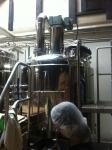 160708 京都町家麦酒醸造所 (3)煮沸釜