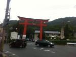 160708 (263)松尾大社_駅前の大鳥居