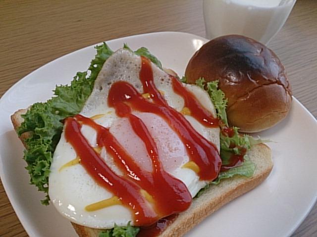 目玉焼きパン