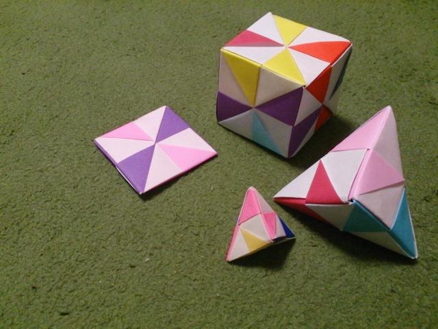 折り紙 多面体